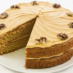 Enjoy delicious, home-baked cakes at Mona's of Muckhart