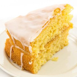 Enjoy delicious home-baked cakes at Mona's of Muckhart